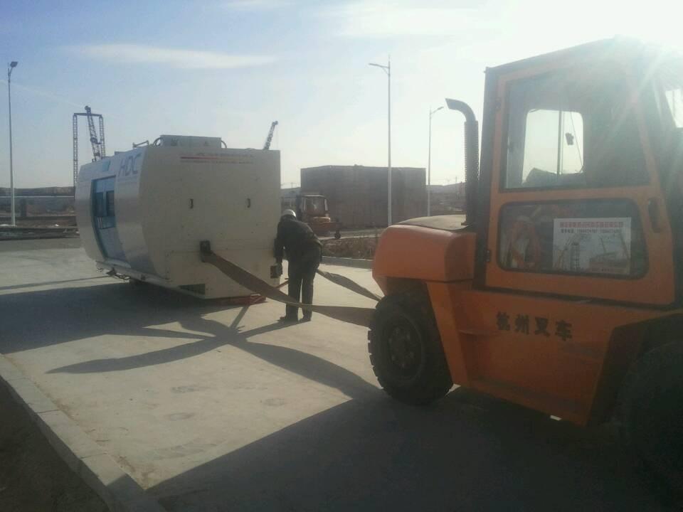 qi瑞汽车制造厂机床搬yun